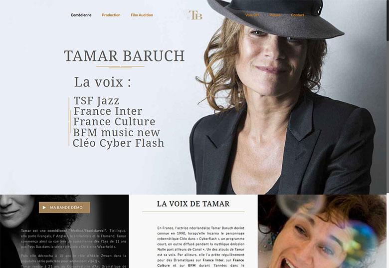 TAMAR BARUCH - COMÉDIENNE